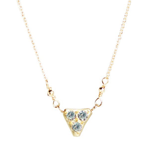 11. 11 Diamond Necklace