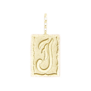 Hand-scripted Ancient Alphabet Necklace J