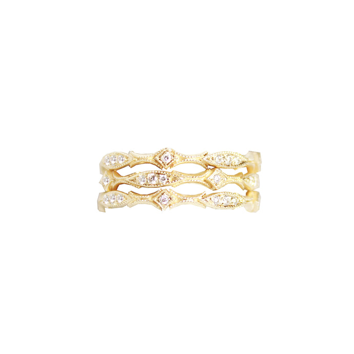 Goddess Stacker Ring