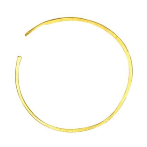 Large Gold Classic Hoops