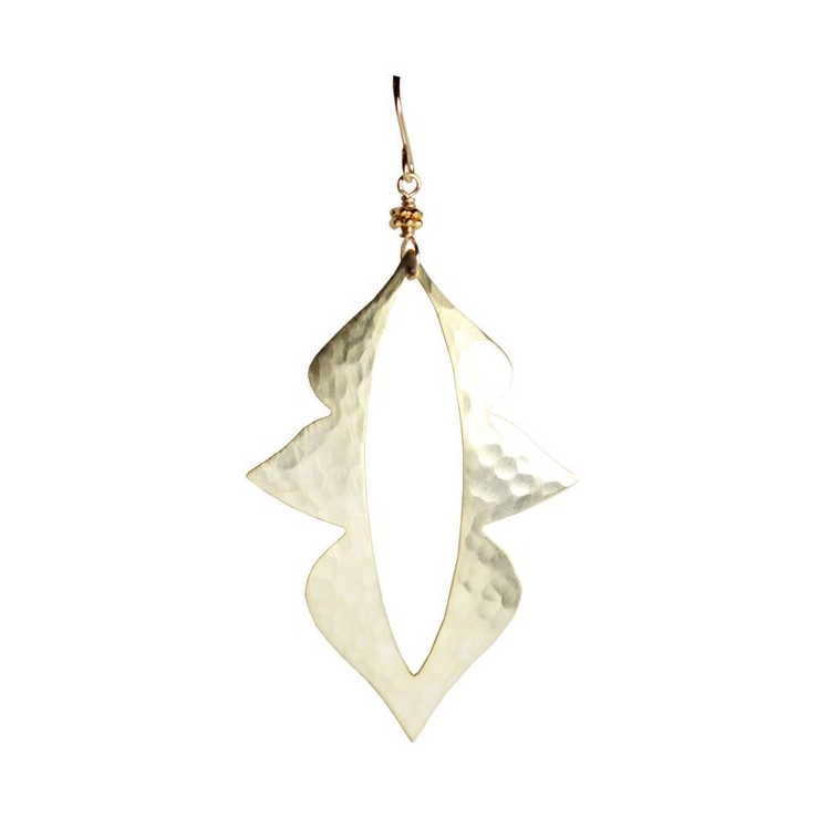Champagne Spike Earrings