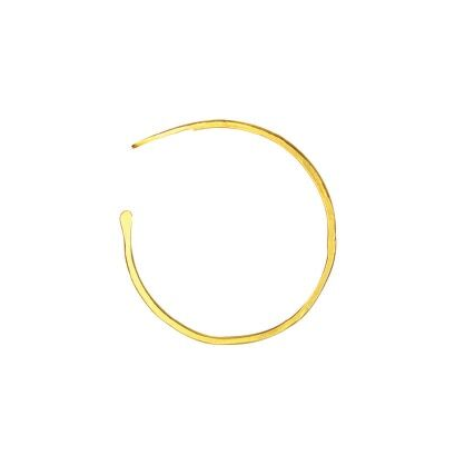 Small Gold Classic Hoops
