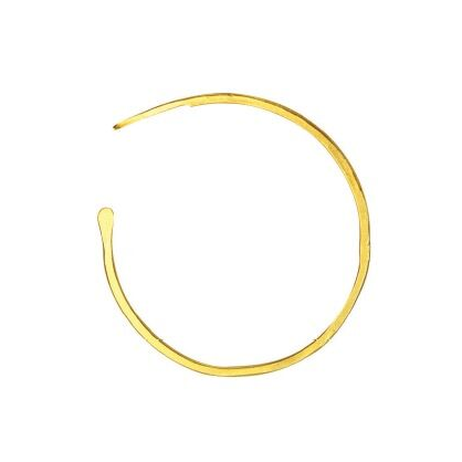 Gold Medium Classic Hoops