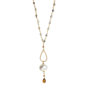 Pearl Gemstone Necklace