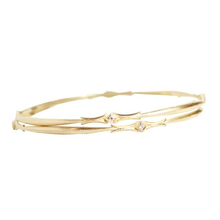 Load image into Gallery viewer, Goddess Diamond Bangle