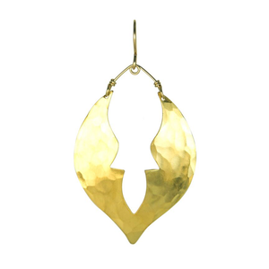 Gold Keyhole Moroccan Earrings
