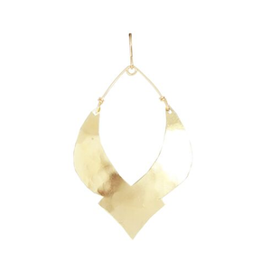 Gold Deep Moroccan Earrings