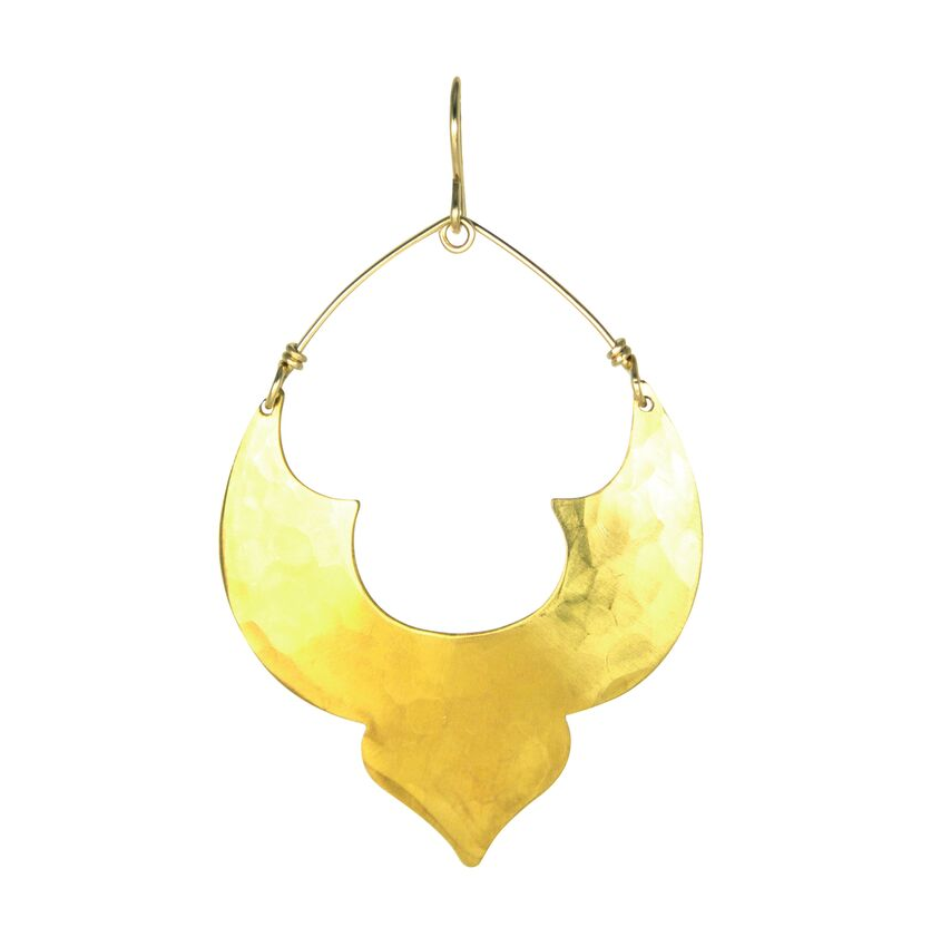 Gold Classic Moroccan Earrings