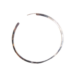 Medium Silver Classic Hoops