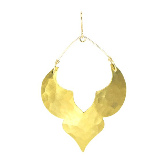 Gold Point Moroccan Earrings