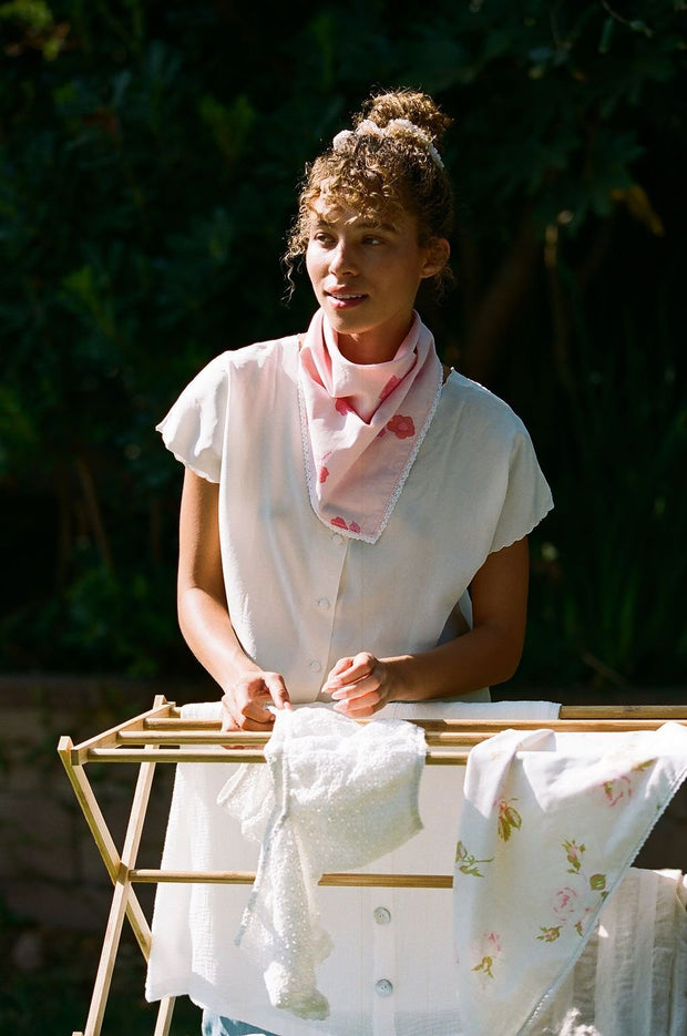 Pink Face Bandana - The Penelope Bandana (Free Shipping Included on all Merritt Accessories Too) 1