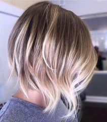Right blonde colour