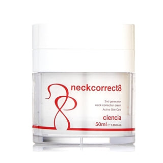 Neck Correct 8 part of the Ciencia 8 skin care range