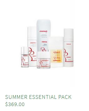 Ciencia Pack Summer essentials