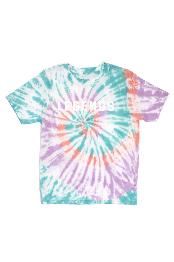 YOUTH LEGENDS TEE TIE DYE