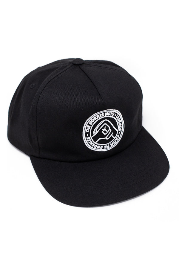 CATCH ME KNUCKLES HAT - BLACK
