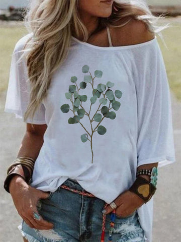 Short Sleeve Casual Round Neck Shirts