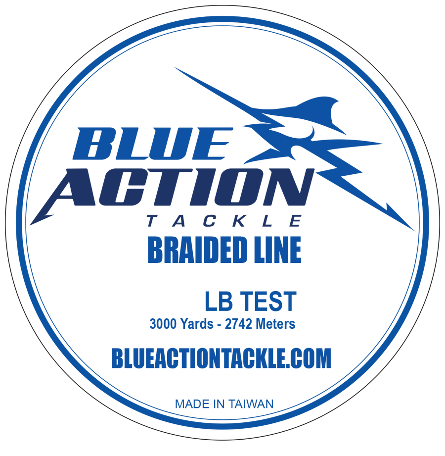 Blue Action Tackle Braid