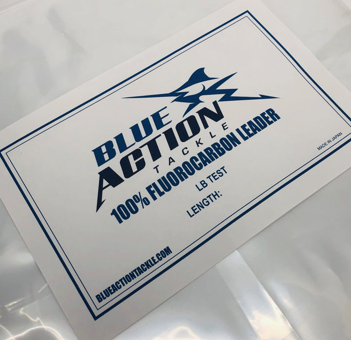 Blue Action Tackle Fluorocarbon COILS (heavy lb test)