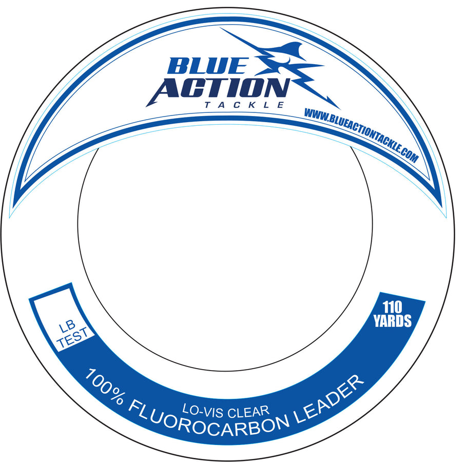 Blue Action Tackle Fluorocarbon