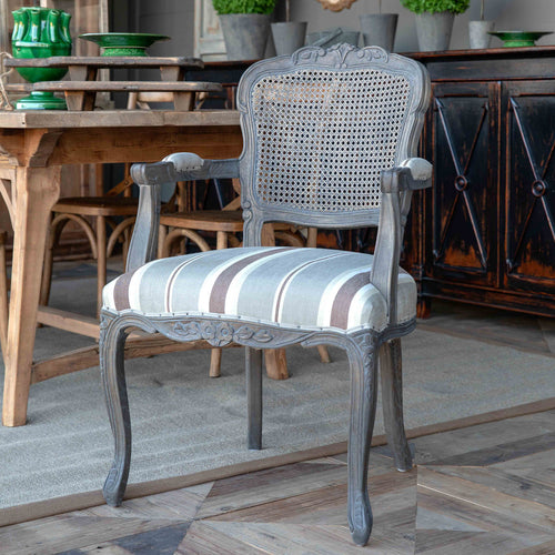 Crested Cane Back Dining Chair