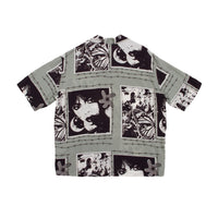 "New!!TEITO""Butterfly Shirt""GREY"