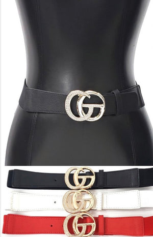 GC Rhinestone Belt