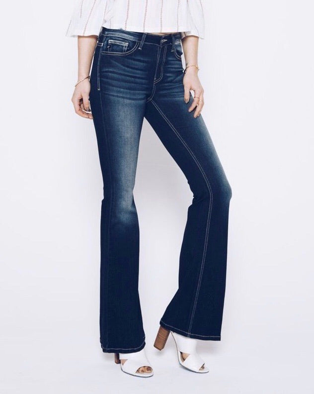 Kimmy Denim Bell Bottom Jeans