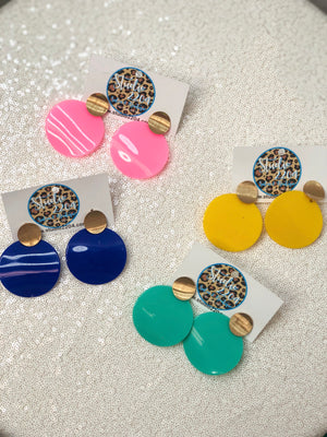 Summer Circle Earring