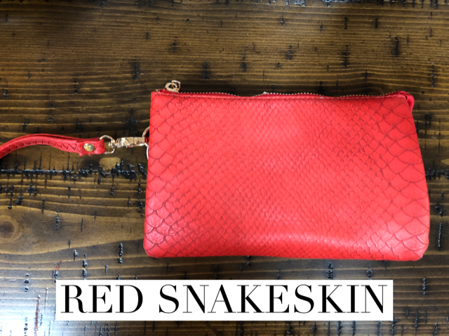 Crossbody Purse with wristlet strap