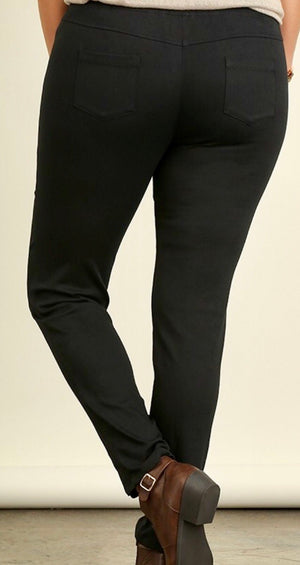 PLUS Skinny Jegging  with elastic waistband