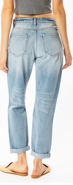 KanCan High Rise Mom Jean