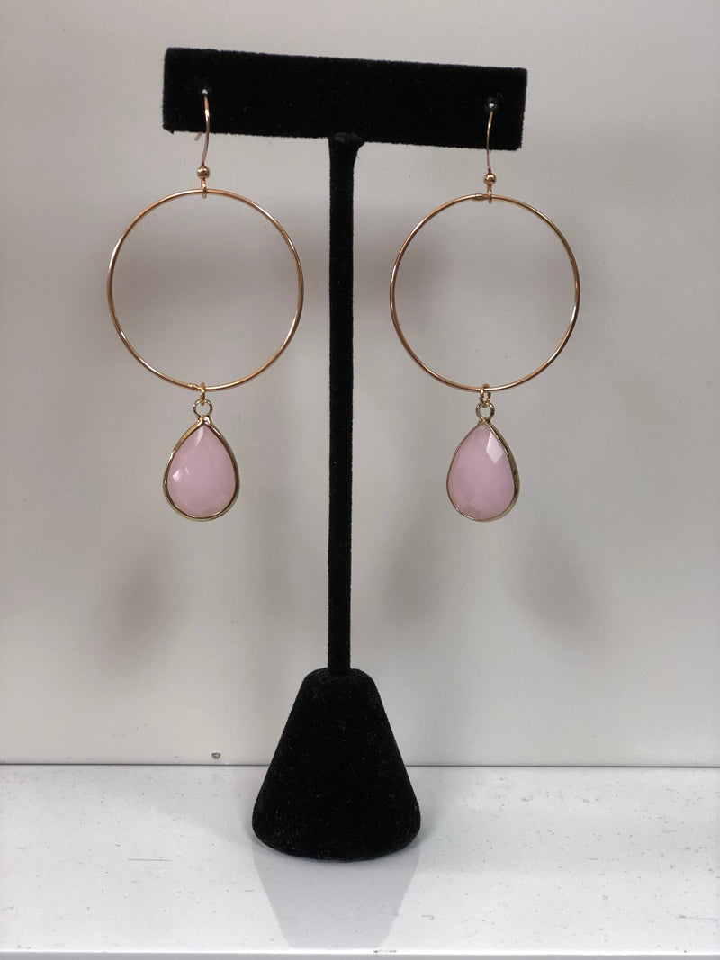 So Precious Stone Earrings