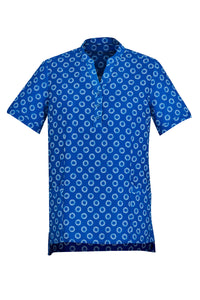 Ladies Short Sleeve Printed Tunic (3 Colours)