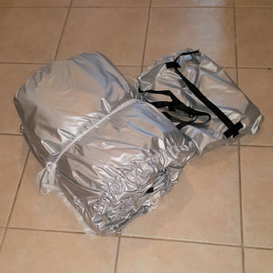 CAR1 Cover + Cover Storage Bag + Installed Cinch Wand (SKU35)