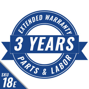 Three Year Parts and Labor Extended Warranty (USA and Canada Only)
