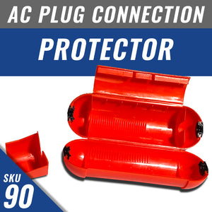 AC plug connection protector