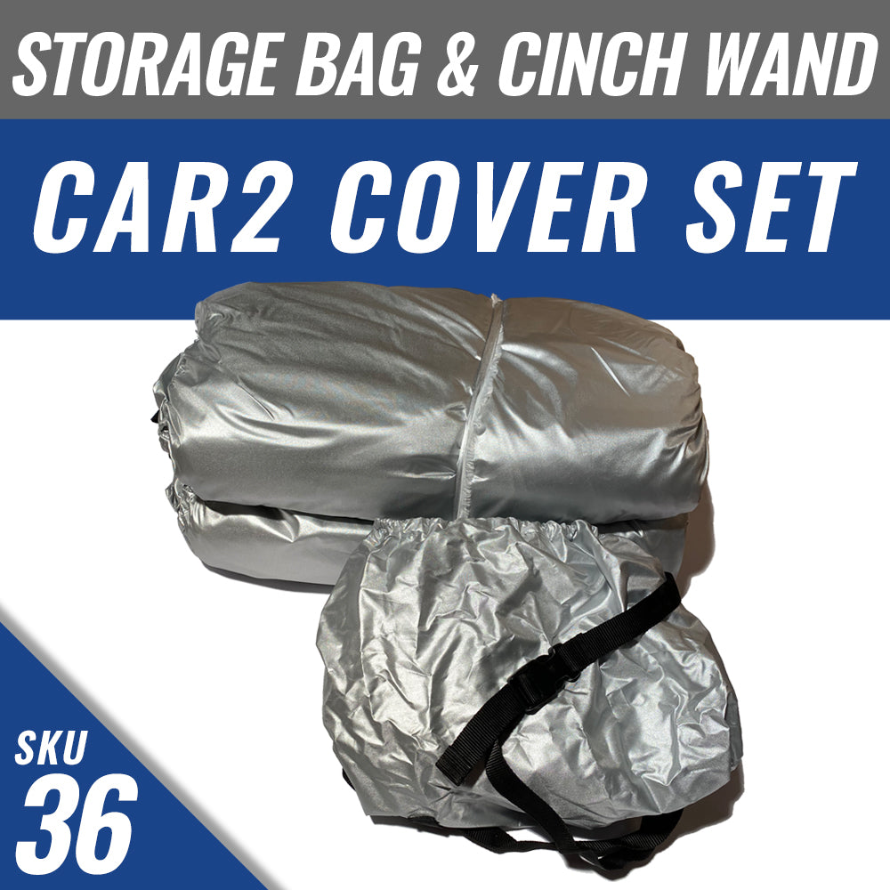 CAR2 Cover + Cover Storage Bag + Installed Cinch Wand