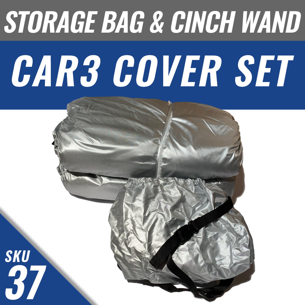 CAR3 Cover + Cover Storage Bag + Installed Cinch Wand