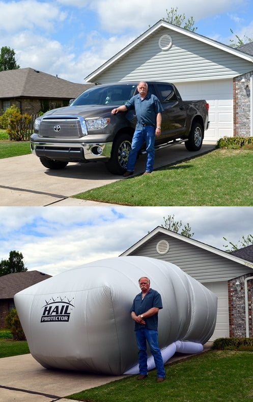 Hail Protector SUV2 Size Portable Cover System for Truck SUV and Van