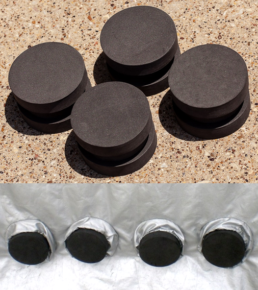 Waterproof Foam Rounds (SKU28)