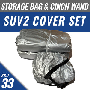 SUV2 Cover + Cover Storage Bag + Installed Cinch Wand