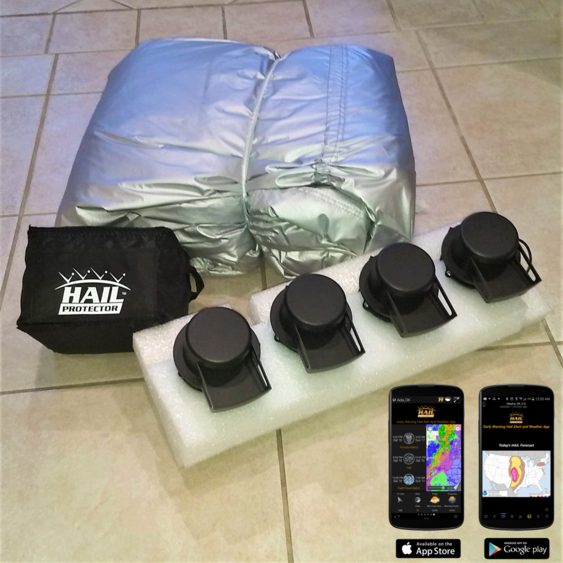 CAR3 HAIL PROTECTOR Car System (196 to 211 inches)