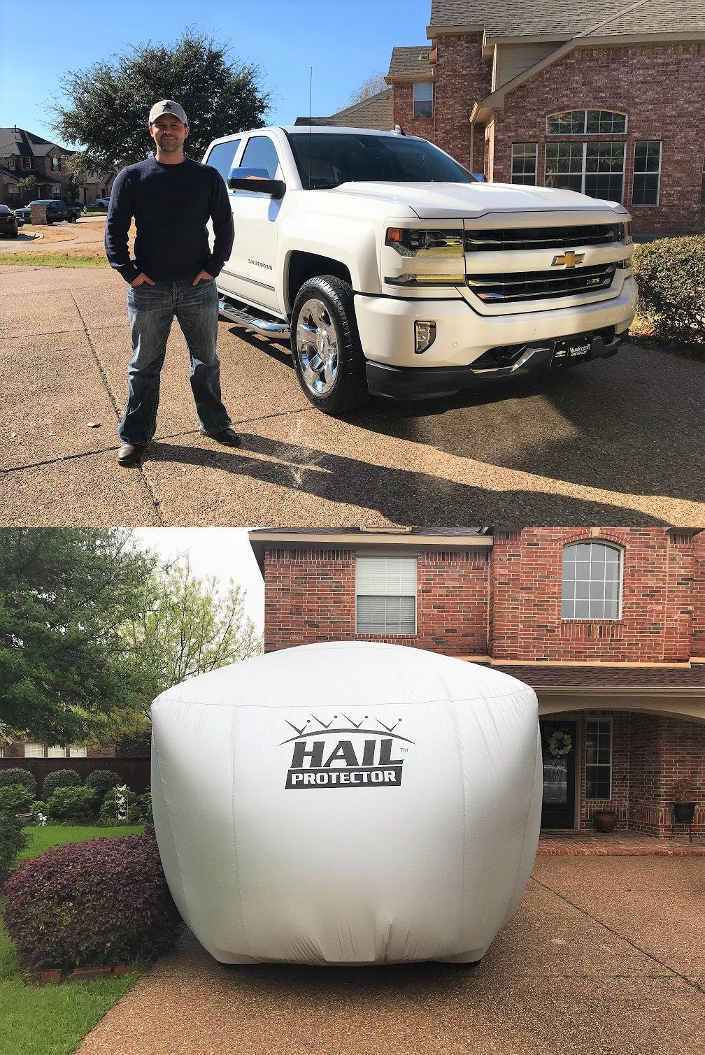 SUV2 HAIL PROTECTOR Truck and SUV (198 to 233 inches) email us to get on waiting list