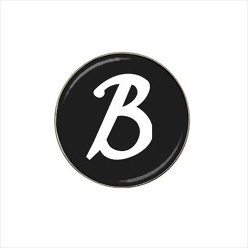 B Initial Golf Ball Marker