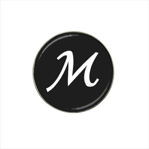 M Initial Golf Ball Marker