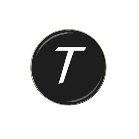 T Initial Golf Ball Marker