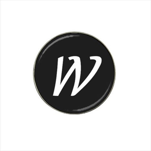 W Initial Golf Ball Marker