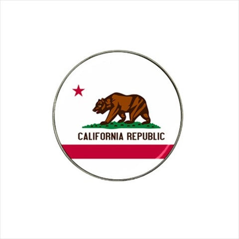 California Republic Flag Golf Ball Marker