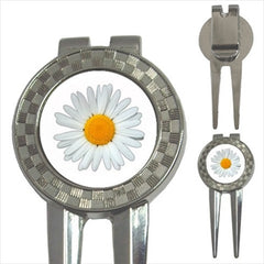 Daisy Golf Ball Marker